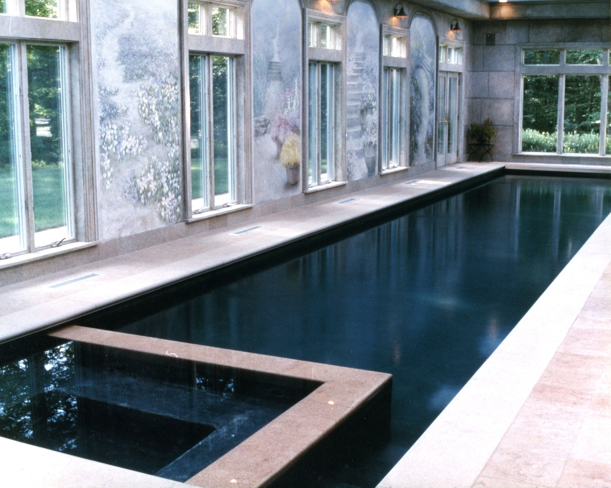 residential indoor lap pool. Indoor Residential Lap Pool In Ridgefield, CT